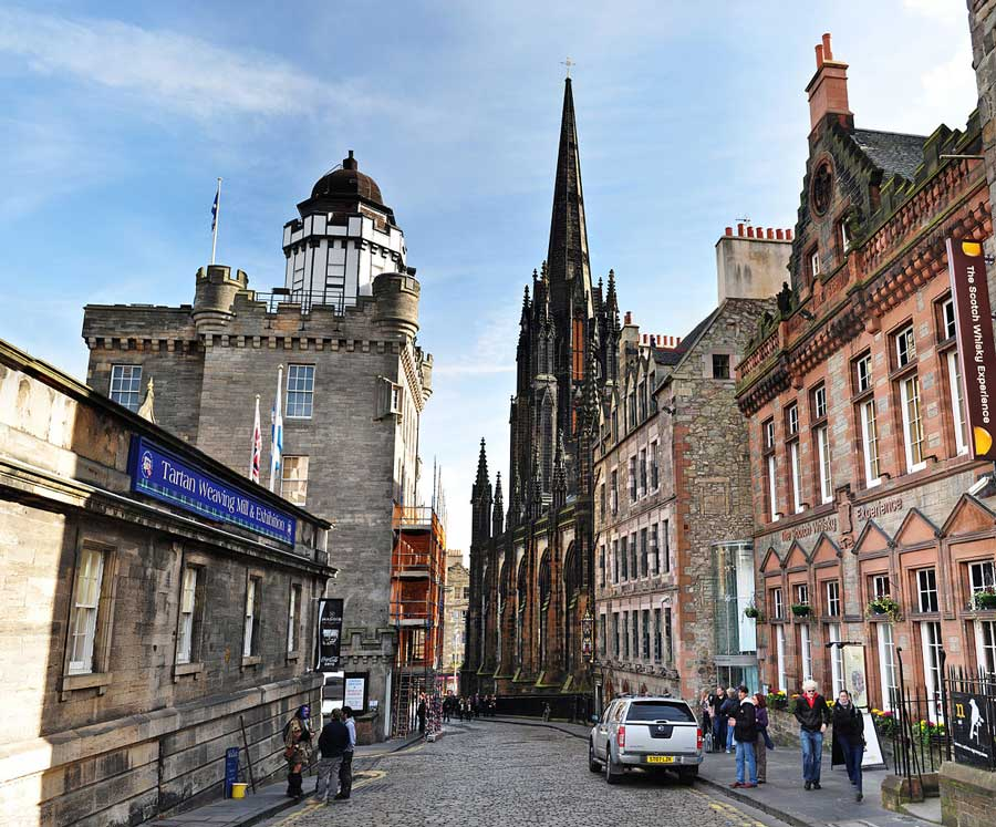 Property development in Edinburgh is an attractive investment.