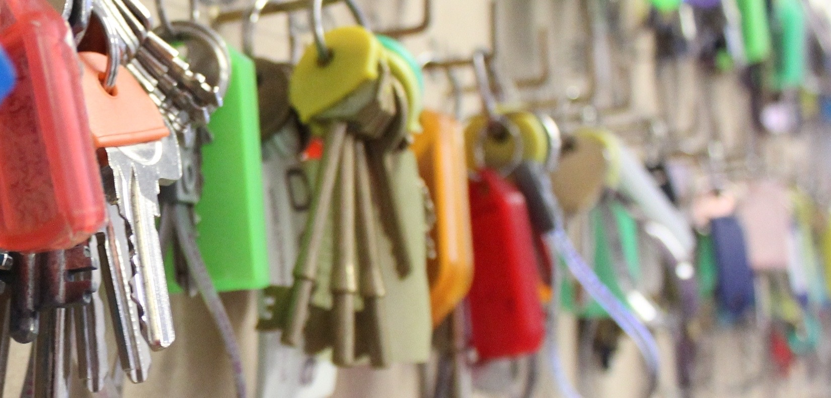 coloure keys